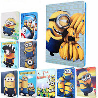 Minions Despicable Me Kids Ipad Cover for MINI, Ipad 2/3/4, Ipad Air, Ipad Air 2