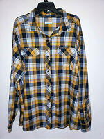 Mens Columbia Omni-Wick Long Sleeve Button Up Plaid Shirt Size 2XL XXL