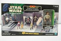 Star Wars Power of the Force 3D Diorama Jabba's Palace w/ Han Solo in Carbonite