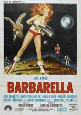 Barbarella Poster 06 A2 Box Canvas Print