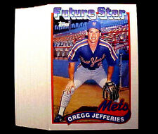 GREGG JEFFERIES ~ 1989 Topps #233 Card ~ LOT OF 180 CARDS = Only 20c per card!