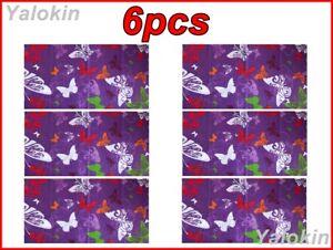 6pcs Butterflies Scarves Family Pack Elastic Print Gaiter Bandana Balaclava N130