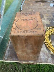 Texaco Oil Crate