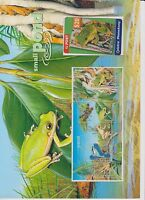 ST143 1999 Small Pond $20 Phonecard & mini sheet pack