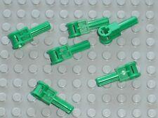 6 x LEGO Technic Green Pole Reverser Handle 6553 / Set 8780 Citadel of Orlan