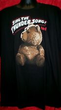 "Ted ""Sings theThunder Song"" Mens 2XL Unisex T-Shirt - New"