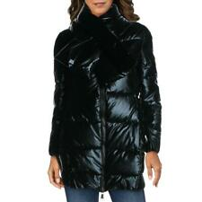 Juicy Couture Black Label Women's Quilted Down Insulated Mid-Length Winter