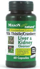 Milk Thistle/Cranberry Liver and Kidney Cleanser by Mason Naturals, 60 capsule