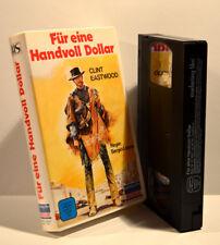 Für eine Handvoll Dollar, Clint Eastwood, Regie Sergio Leone,marketing Film,VHS