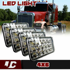 4x LED Headlight Sealed Beam For Chevrolet R10 R20 R30 1984 Lincoln Continental
