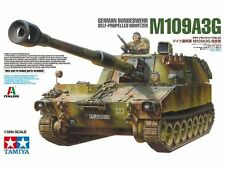 1/35 Tamiya German Bundeswehr M109A3G - Self-Propelled Howitzer #37022 -New