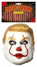 Trump Halloween One Size Fancy Dress Costume Latex Clown Mask Adults  Party