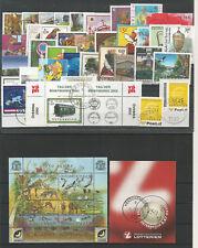 Österreich  Jahrgang 2002 gestempelt komplett