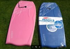 42 INCH BODYBOARDS Morey Mach 9 one pink one blue. ONE NEW IN BAG. QTY 2