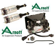 Range Rover Sport LR3 LR4 Set of 2 Front Air Shock Strut with Compressor