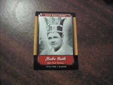 BABE RUTH 2001 UPPER DECK LEGENDS BASEBALL CARD 42 NEW YORK YANKEES
