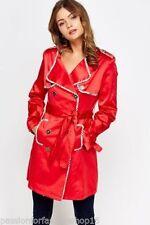 Mink Button Knee Length Coats & Jackets for Women