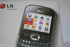 LG C360 Mobile Phone QWERTY Keyboard 2MP Camera UNLOCKED UK STOCK
