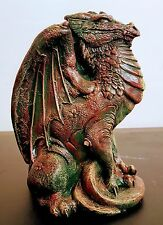 Mythical Dragon Statue Draco Fantasy Sculpture