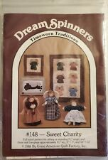 """Dream Spinners pattern #148 Sweet Charity 7-1/2"""" Angel & small Wall Hangings"""