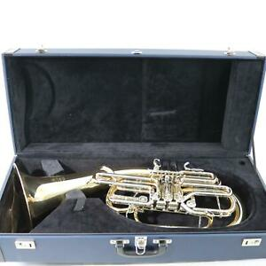 Hans Hoyer Model 4826G-L F/Bb Full Double Wagner Tuba MINT CONDITION