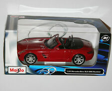 Maisto - MERCEDES-BENZ SLS AMG Roadster (Red) Model Scale 1:24