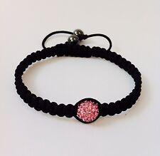Shamballa bracelet swarovski crystal bead adjustable style bobin boutique