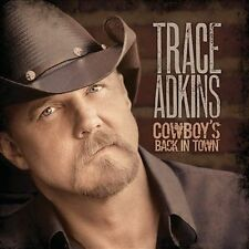 "TRACE ADKINS, CD ""COWBOY'S BACK IN TOWN"" NEW SEALED"