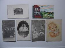 LOT 2 CARTE POSTALE CP cartes photos personnes