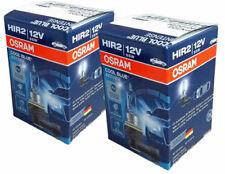 2 BOMBILLAS HALOGENAS OSRAM HIR2 9012CBI LUZ BLANCA 20% MÁS.ENVIO GRATIS 24H