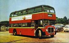 City of Oxford 1966 AEC Renown Bus DFC366D 1970s PIKE postcard