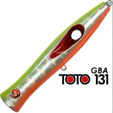 ARTIFICIALE POPPER TOTO 131 COL GBA SEASPIN LURE SEÑUELO SPINNING MARE ITALY