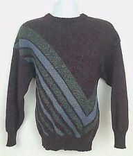 Eskimo Knitwear English Wool Sweater XL Vintage 80s