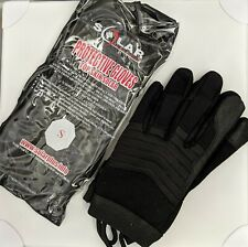 Solar Black Protective Gloves | Small