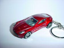 NEW 3D RED ASTON MARTIN ONE-77 CUSTOM KEYCHAIN keyring key177
