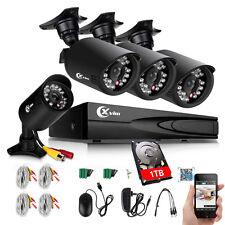 XVIM 8CH 1080N HDMI DVR Outdoor 1500TVL Video CCTV Security Cameras System 1TB