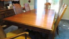 Dining Room set with Mediterranean Table and 6 chairs