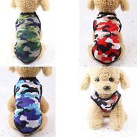 Small Dog Clothes Pet Puppy Cute Vest Dog Cat Summer Tank Top Shirt Coat Apparel