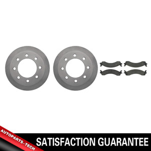 Centric Front Brake Rotors & Metallic Brake Pads 3PCS For Dodge Ram 2500 2000