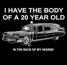 BODY OF 20 YR OLD IN HEARSE SKULL SWEATSHIRT  90