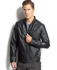 INC International Concepts Chen Bomber Jacket Black Mens Size Small NWOT
