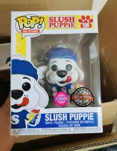 Ad Icons - Slush Puppie FLOCKED US Exclusive Pop! Vinyl #106