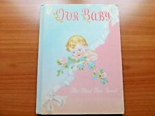 "Vintage 1946 Whitman Publishing ""Our Baby Book"" The First Five Years ~ Unused"