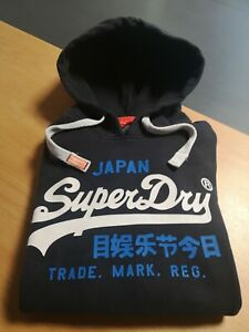 Sweat capuche homme Superdry. M. Tbe