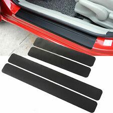For Honda 3D Carbon Fiber Door Plate Sill Scuff Cover Anti Scratch Sticker 4pcs