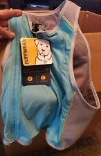 Ruffwear Jet Stream Dog Vest Cooling Jacket M Blue Lagoon New w Tags 27-32 in.