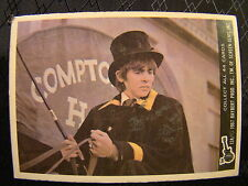 Vintage The The Monkees Raybert Carta 1967 12 a Davy Jones Sombrero de Copa