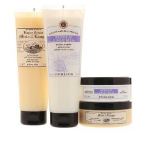Perlier 4-piece Honey from Liguria (Lavender) and Honey Langhe Set