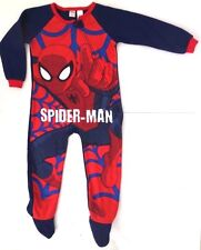 Marvel Ultimate Spider-Man Boys Nightwear Blanket Sleeper  Sizes 4 NWT