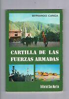 CARTILLA DE LAS FUERZAS ARMADAS EDITORIAL SAN MARTÍN 1981